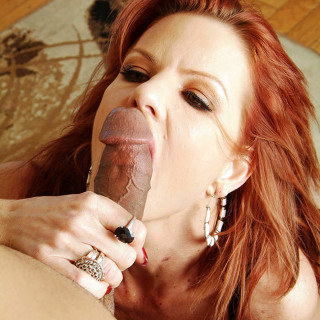 Big Titty Mature Redhead Drains Cum